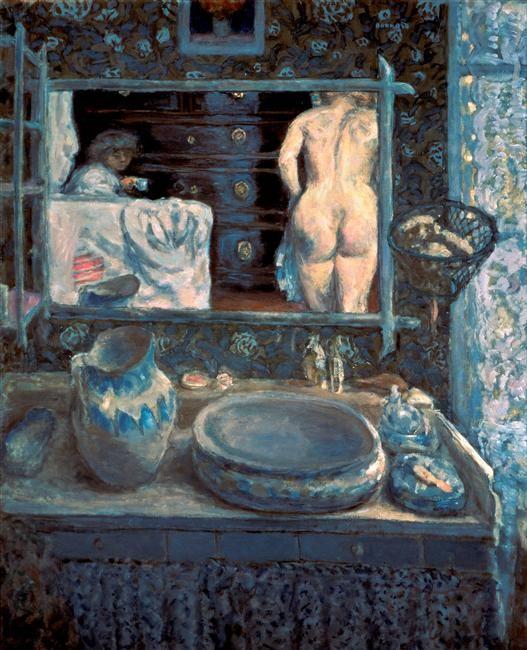 Pierre Bonnard, Le miroir, huile sur toile, Moscou, Musée Pouchkine.