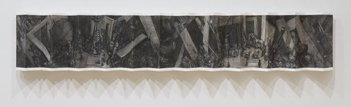 Rita Lazauskas: View from the ramparts #5 :: Dobell Prize for Drawing 2012 :: Art Gallery NSW