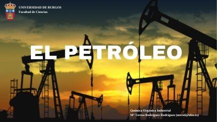 infografía interactiva sobre el petroleo, su exploración, su extracción, su transporte, su refinado y la aplicación en la industria química de las distintas fracciones obtenidas en la destilación. Genial.ly
