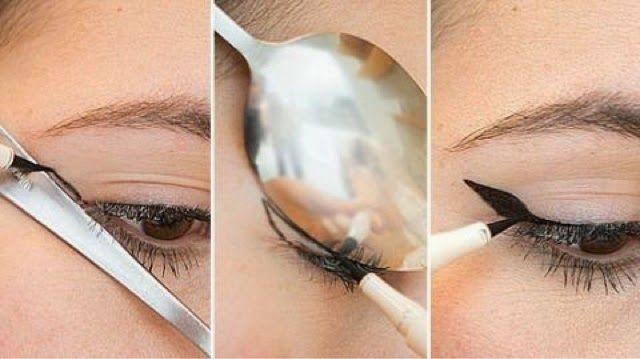 Lingerie Lady: Makeup