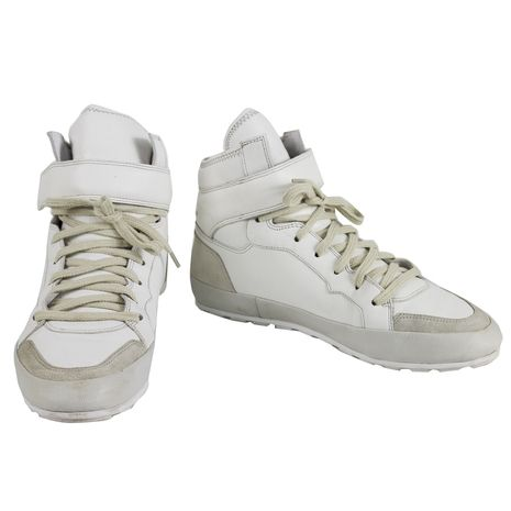 Isabel Marant Bessy Hip Hop Leather Sneakers Suede High Top Sneaker sz 40 Shoes