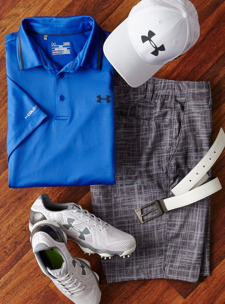 Play 18 in cool, dry comfort with Under Armour. | Golf Galaxy