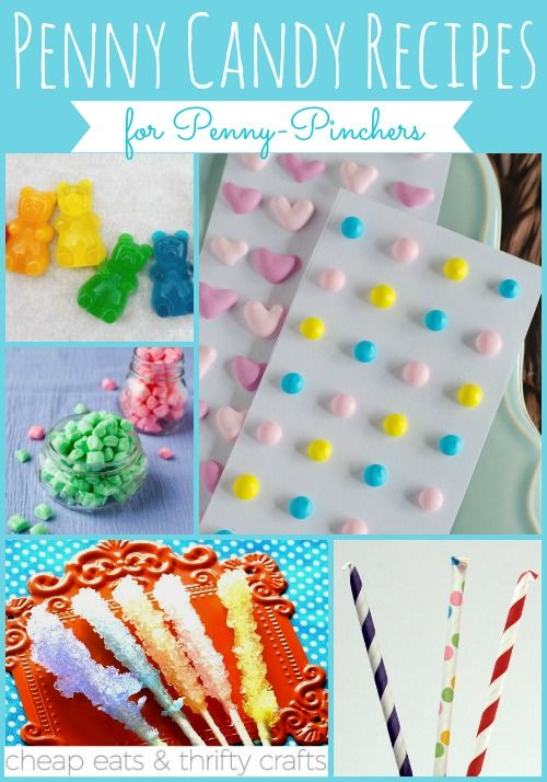 Penny Candy Recipes for Penny-Pinchers | Homemade candy recipes are the best! I can't wait to make the dots!