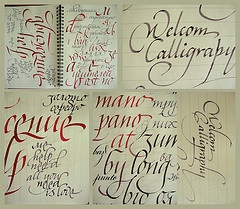 fine flickr stream of marina marjina's calligraphy