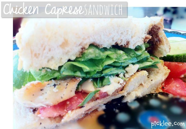 The BEST summer sandwich-grilled chicken caprese ...
