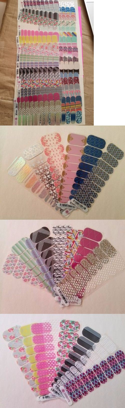 Nail Art Accessories: Jamberry Lot 40 Half Sheets Retired Exclusive Disney Sparkle Clear -> BUY IT NOW ONLY: $80 on eBay!