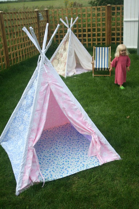 Pretty Play Tent Teepee On Etsy When My Girl Has Her Own