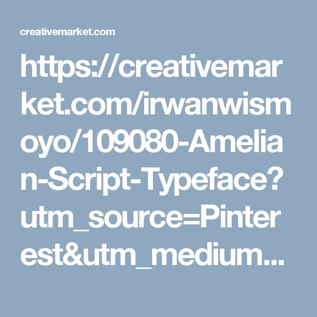 https://creativemarket.com/irwanwismoyo/109080-Amelian-Script-Typeface?utm_source=Pinterest&utm_medium=CM Social Share&utm_campaign=Product Social Share&utm_content=Amelian Script Typeface ~ Display Fonts on Creative Market