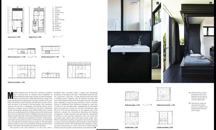 """HOUSES Kitchens + Bathrooms article. Joinery: New Age Veneers Navurban pre-finished panels in """"Ashgrove"""" designed by architect Terry McQuillan of Bureau Proberts and his wife, Charlie, an interior designer....."""