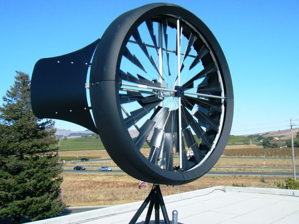 The Hottest Home-Improvement Technologies and Trends: Residential-use wind turbines are becoming smaller, more efficient and hopefully more mainstream. This model is just 6 feet tall, 185 pounds and can start producing energy in a wind less than 1 mph. It has an auto-shutoff at 38 mph so noise and vibration are not an issue. Image courtesy of  Honeywell From DIYnetwork.com