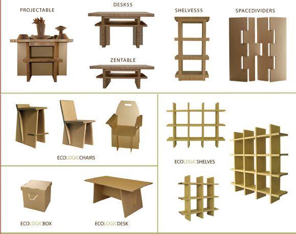мебель в картинках из картона носовой перегородки