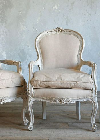 vintage french needs to be grey, with striped fabric