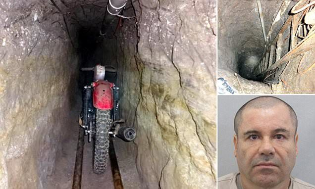 First picture of motorbike kingpin El Chapo used to escape prison #DailyMail | You can also see this & more at:  http://twodaysnewstand.weebly.com/mail-onlinecom