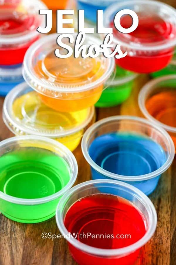 This Jello Shot Recipe Makes The Best Vodka Jello Shots Switch Up Your Vodka Or Gelatin For An Endless Vari Jello Shots Vodka Jello Shot Recipes Shot Recipes