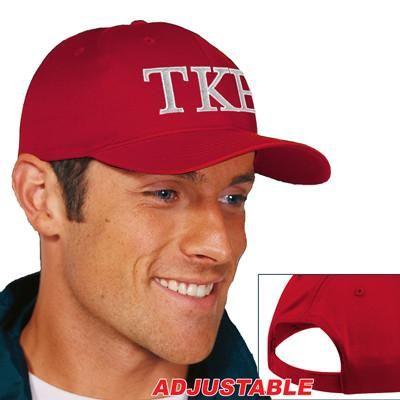 Tau Kappa Epsilon 2-Color Embroidered Cap - Port and Company CP80 - EMB