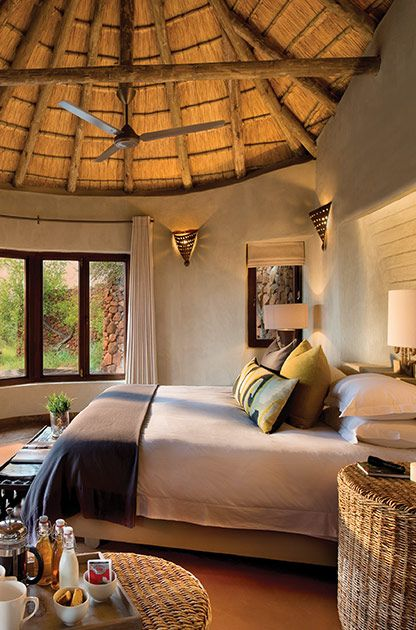 Kopano Suite #MadikweSafariLodge #MOREplaces #LuxurySafari #MalariaFreeSafari #KopanoLodge