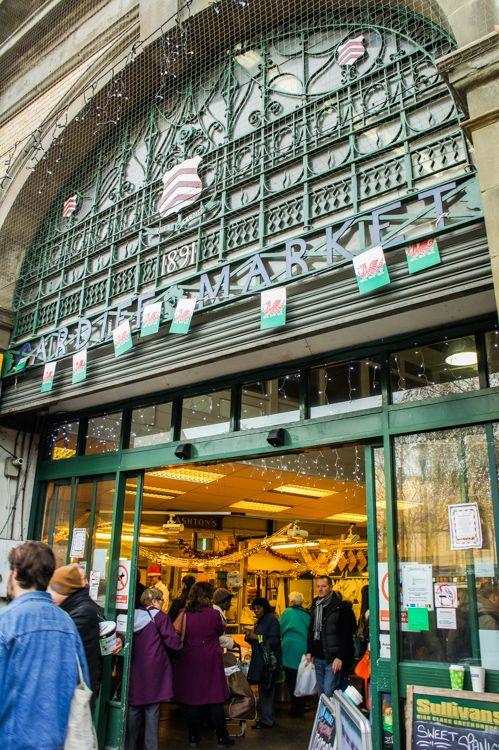 Cardiff Market, Cardiff, South Wales, UK