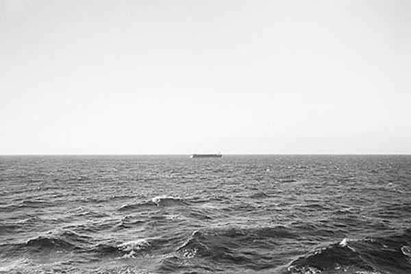 The sea, photograph Marten Lange.
