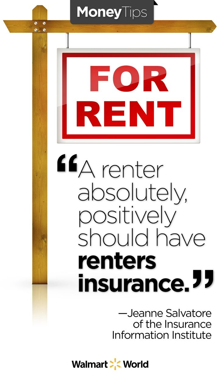 """""""A renter absolutely, positively should have renters"""