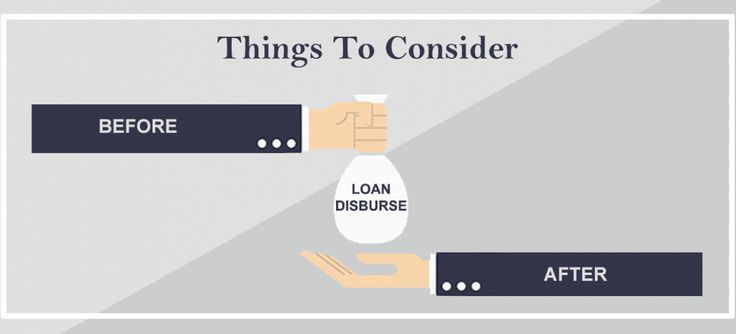 Things to consider before & after personal loan disbursement. For more details visit - http://buff.ly/28XVm19 #Ruloans #BorrowRight
