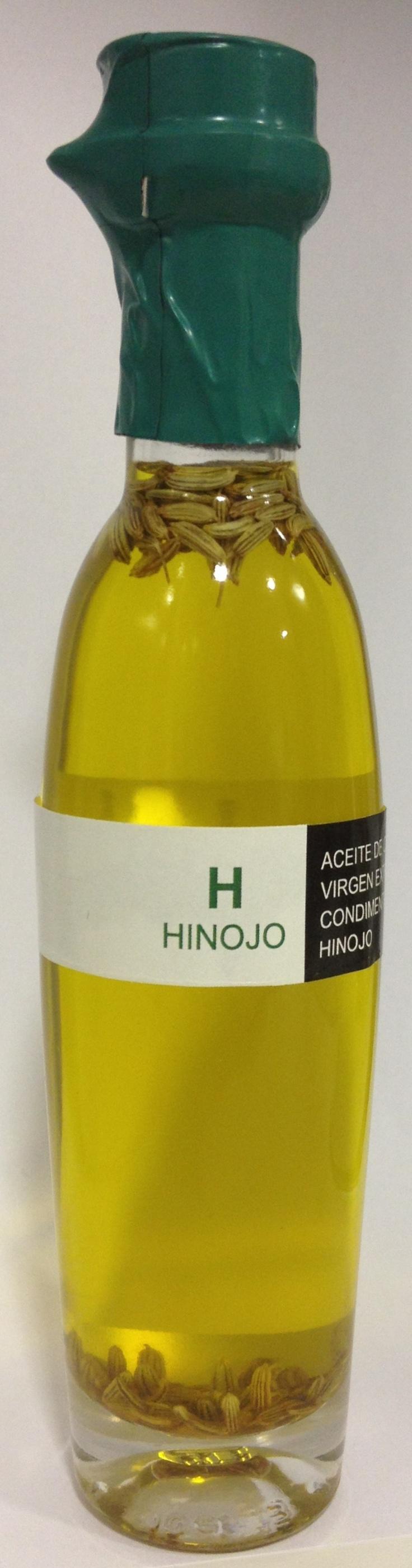 Aceite de oliva virgen extra ecostean con hinojo!