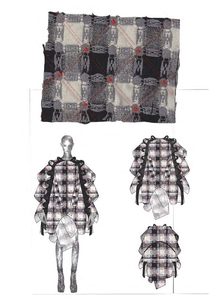 Fashion Sketchbook - fashion design development, fashion drawings & fabrics; fashion portfolio // Philli Wood