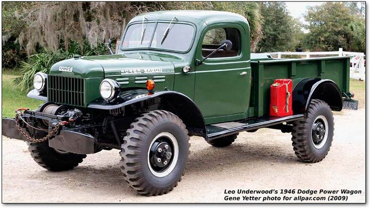 40's Dodge Power Wagon.... Tough!!!!Came close to buying one a few years back.