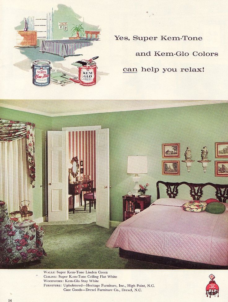 Retro Bedroom Interior Design: 1000+ Images About 1960s Bedroom On Pinterest