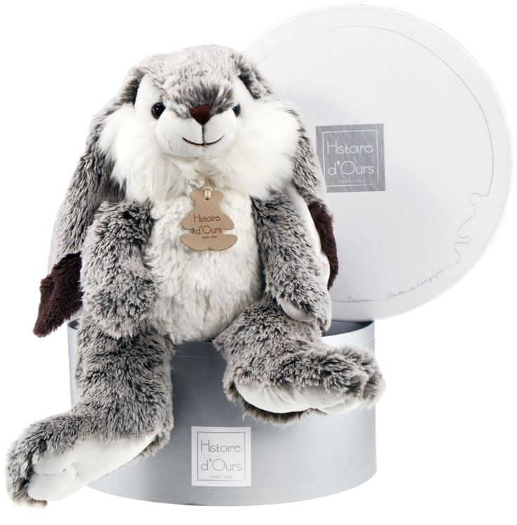 Histoire D'ours Z'Animoos Marius Lop Eared Rabbit: Amazon.co.uk: Toys & Games