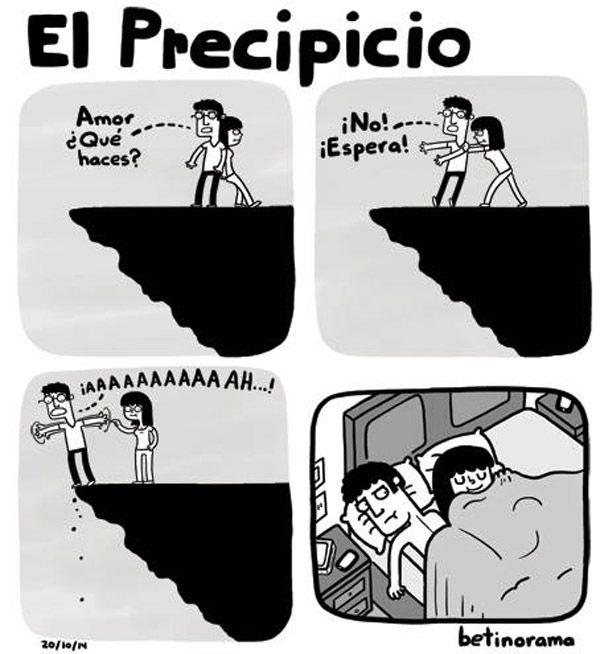 El precipicio. #humor #risa #graciosas #chistosas #divertidas