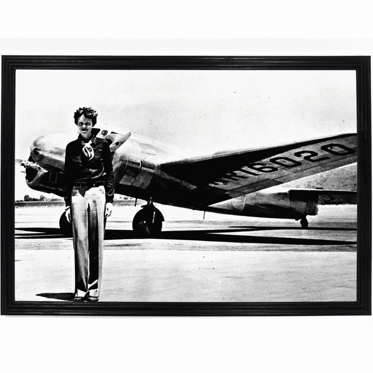 Amelia Mary Earhart (July 24, 1897 – disappeared July 2, 1937) was an American aviation pioneer and author. Earhart was the first female pilot to fly solo across the Atlantic Ocean. She received the U