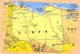 Image result for benghazi map