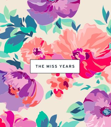 Our bestselling floral hen party scrapbook The Miss Years is perfect for adding messages and photos for the bride on her hen weekend celebrations.