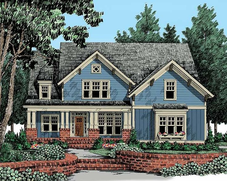 Eplans Craftsman House Plan - Craftsman Country - 2795 Square Feet and 4 Bedrooms from Eplans - House Plan Code HWEPL13230