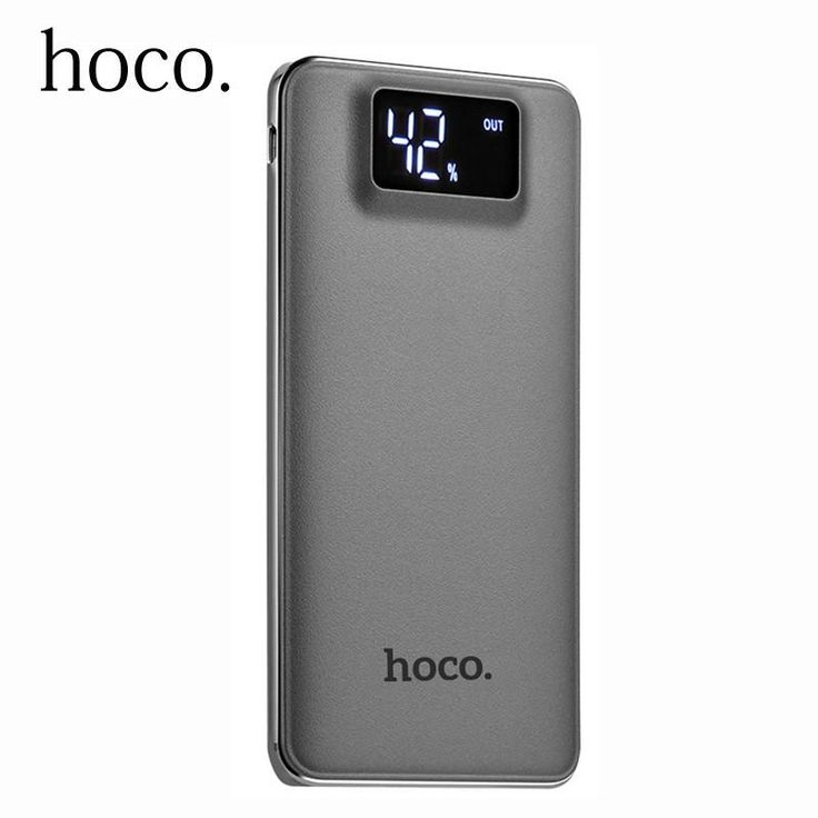 Power Bank 10000mah Dual USB. HOCO Power Bank 10000mah Dual USB LCD Display Polymer External Battery Portable Charger Powerbank For iphone XiaomiType: Emergency / PortableQuality Certification: FCC,CE,RoHSBattery Type: Li-polymer BatteryIs LED Lamp Illumination: YesBattery Capacity(mAh): 9001-10000mAhOutput: 5V/1ABrand Name: HOCOWeight: 200gSupports Solar Energy: NoInput Interface: Micro USBSupport Quick Charge Technology: NoOutput Interface: Double USBSize: 139 x 75 x 20...
