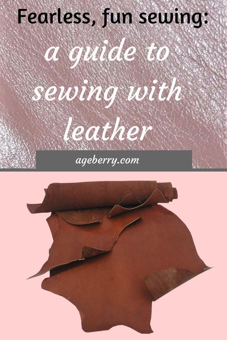 sew skinny leather-based