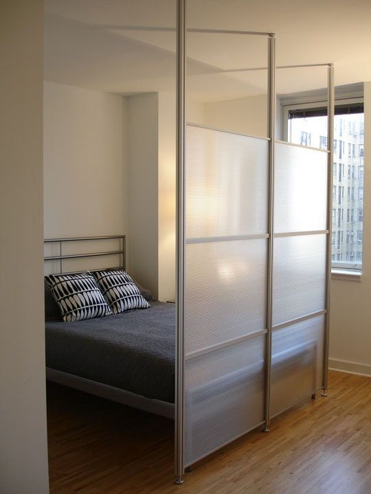 A Modern Room Divider Wall System That Is Easy To Install