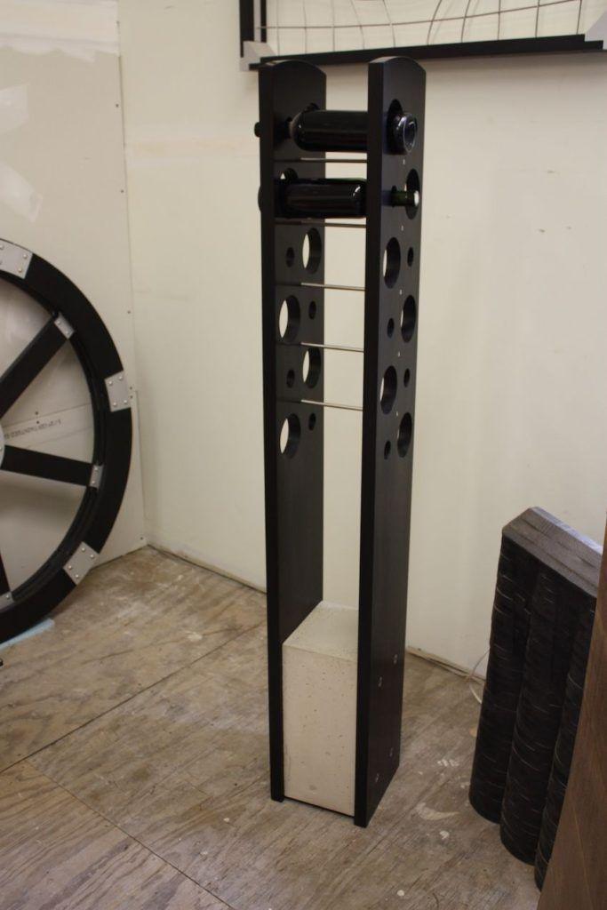 The 25 best tall wine rack ideas on pinterest tall corner shelf wine rack and wine rack wall - Tall corner wine rack ...
