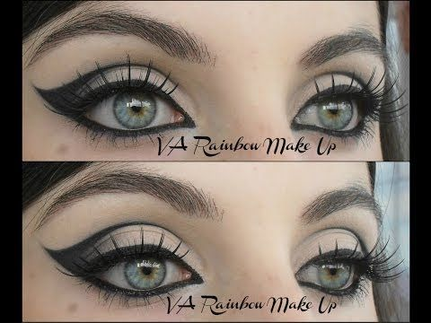 ▶ TOTAL LOOK Cat eyes makeup Tutorial + Outfit Sammydress - YouTube