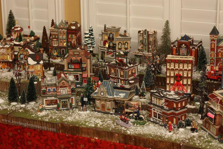 Christmas Village Ideas | Christmas Village - 2012 Virtual Advent Tour