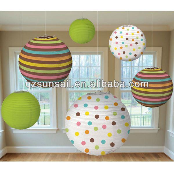 Linternas de papel para baby shower/vivero decoración/de cumpleaños--Identificación del producto:742183604-spanish.alibaba.com