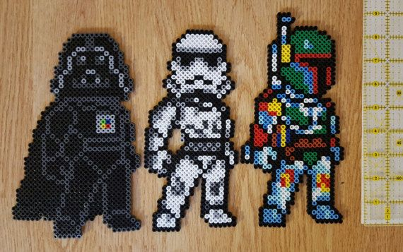 Check out this item in my Etsy shop https://www.etsy.com/ca/listing/498154422/star-wars-perler-bead-characters