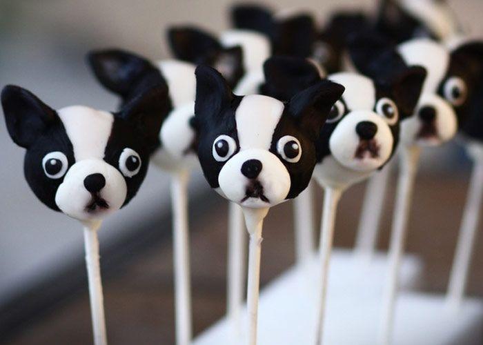 Boston Terrier cake pops!!: Dogs, Boston Terriers Cakes, Boston Cakes, Cake Pop, Cute Cakes Pop, Wedding Plans Ideas, Cutest Cakes, Cake Pops, Bridal Guide