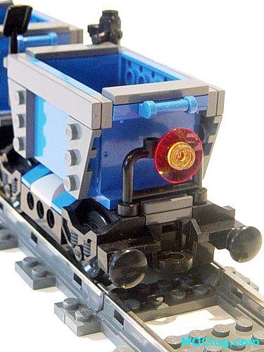 LEGO MOC - Dwarf Mining Train - End   Flickr - Photo Sharing!