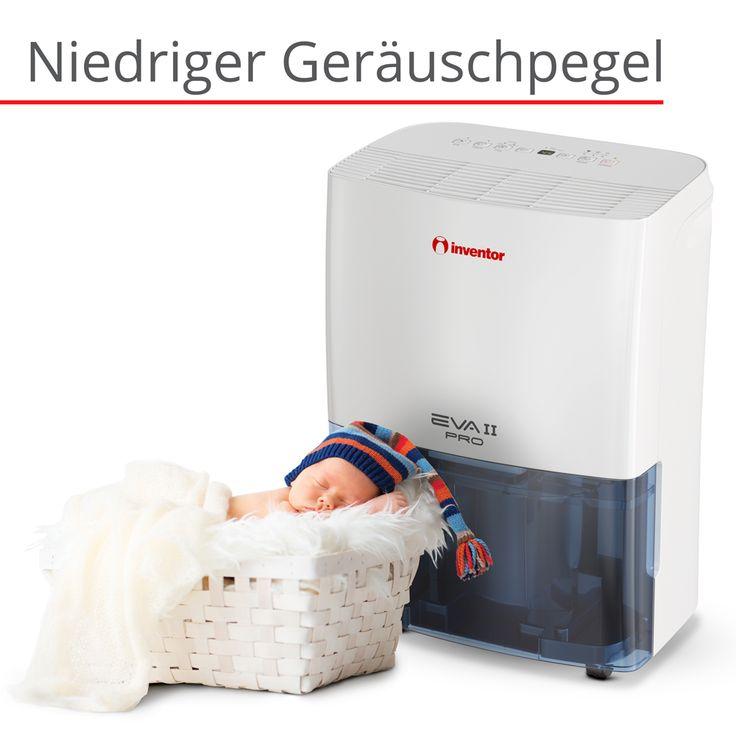 EVA II PRO ION 20L/Tag. Genießen Sie eine saubere und hygienische Atmosphäre mit dem integrierten Ionisator frei von Staub, Bakterien, Zigarettenrauch und unangenehmen Gerüchen, während gleichzeitig ein ruhiger Betrieb gewährleistet wird. Trocknen Sie Ihre Wäsche effektiv, mit dem Wäschetrocknungsprogramm in Jahreszeiten mit hoher Luftfeuchtigkeit und Regen. Sparen Sie Geld und Energie durch die intelligente Entfeuchtung und sorgen Sie für optimale Raumbedingungen bei geringem…