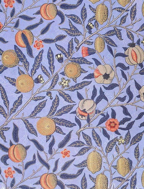 Fruit (1860) Wallpaper design