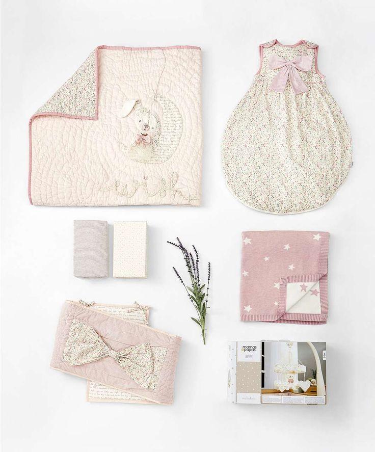 Nursery Bundle - Millie & Boris Pink - All Sleeping - Mamas & Papas