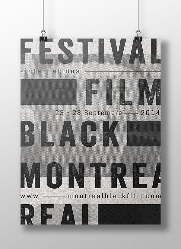 MONTREAL BLACK FILM FESTIVAL - Poster Contest
