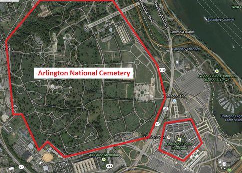 Trending Arlington Cemetery Map Ideas On Pinterest Arlington - Arlington cemetery on us map