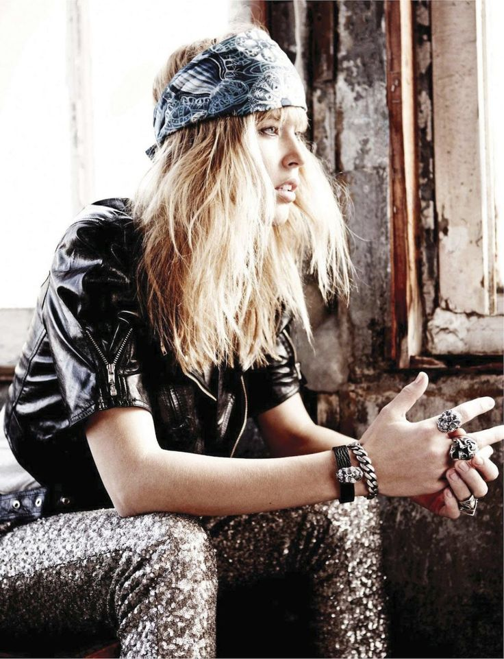 Rock N Roll Girl Hairstyles : 85 best editorial: rock nroll images on pinterest